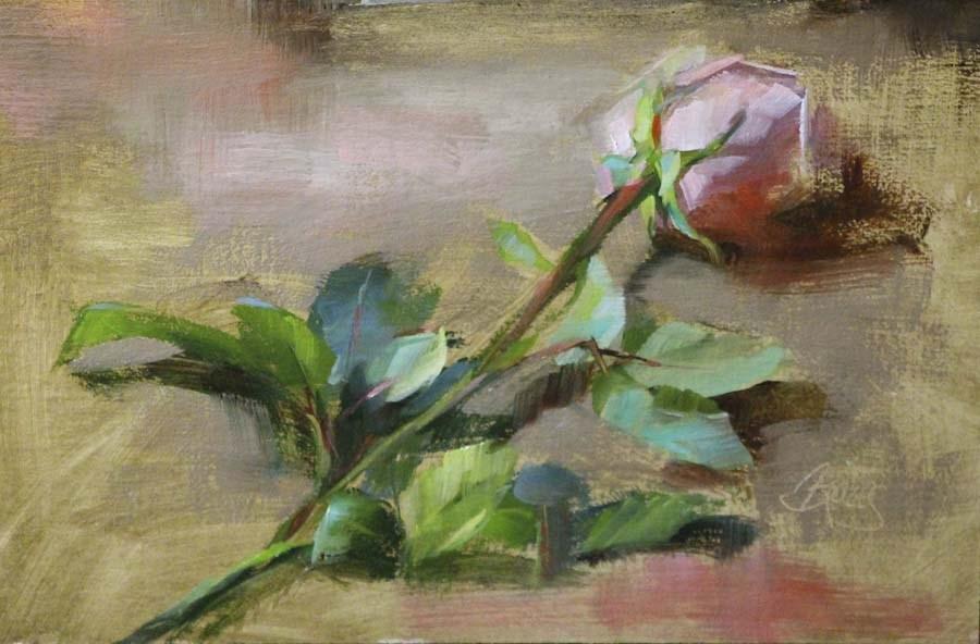 """""""Pink"""" original fine art by Pamela Blaies"""