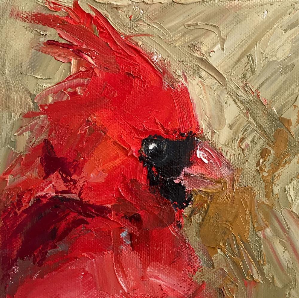 """Wild Man"" original fine art by Marcia Hodges"