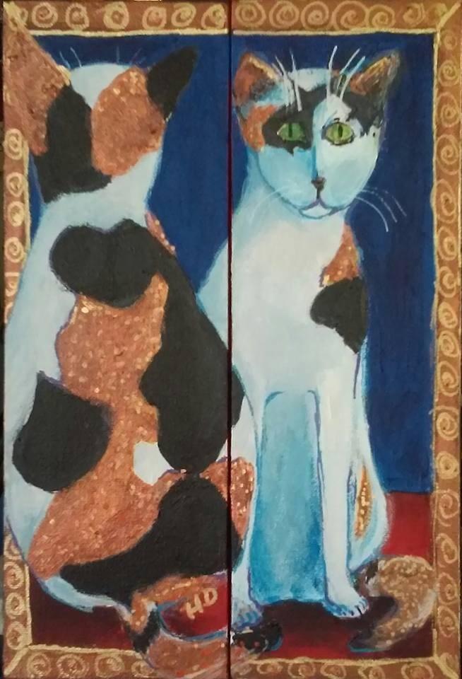 """""""Kate"""" original fine art by Hallie Dozier"""