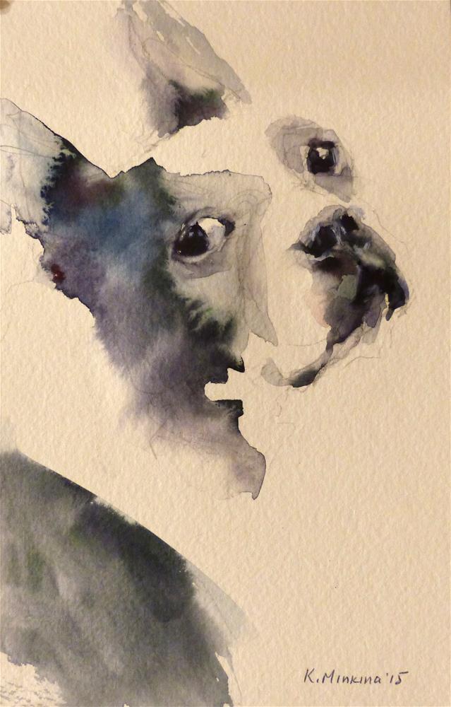 """adopt106"" original fine art by Katya Minkina"