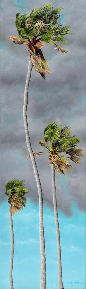 """Taking It Breezy"" original fine art by Wendi Vann Johnson"