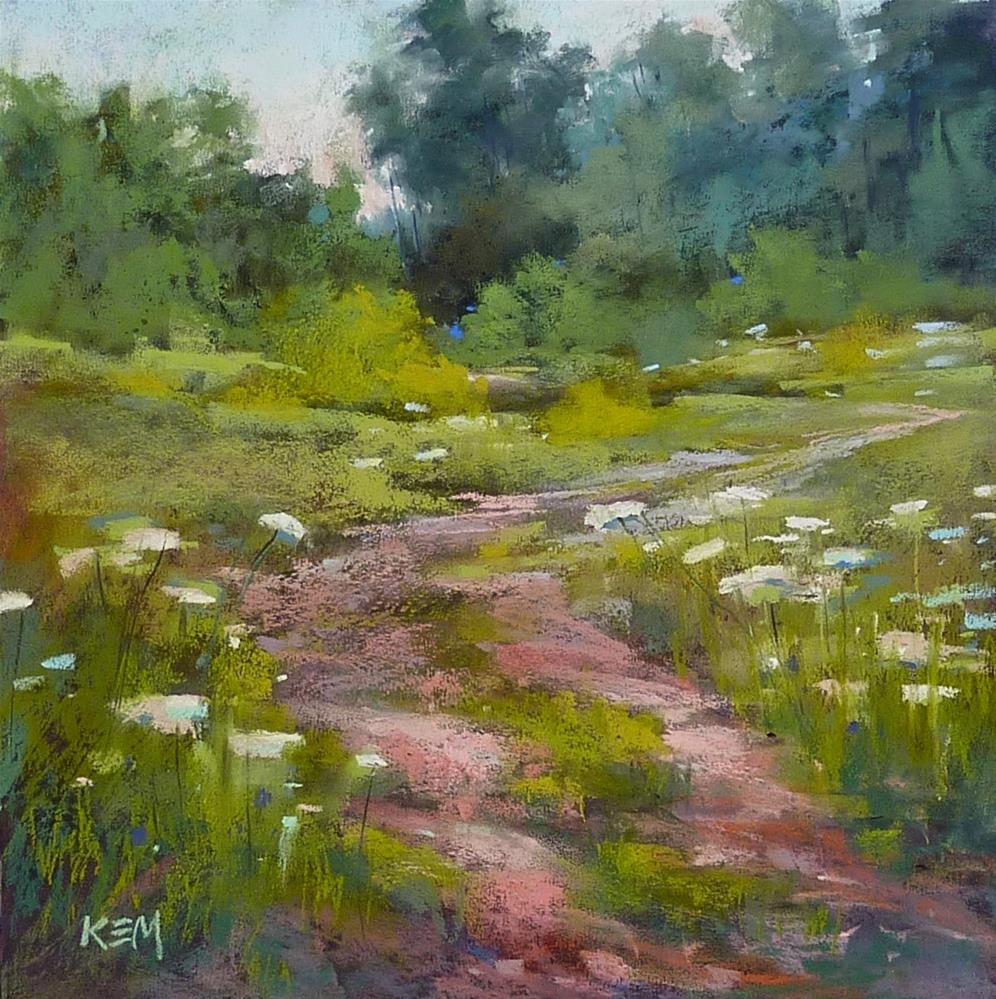 """Cheat Sheet: Compose Better Paintings"" original fine art by Karen Margulis"