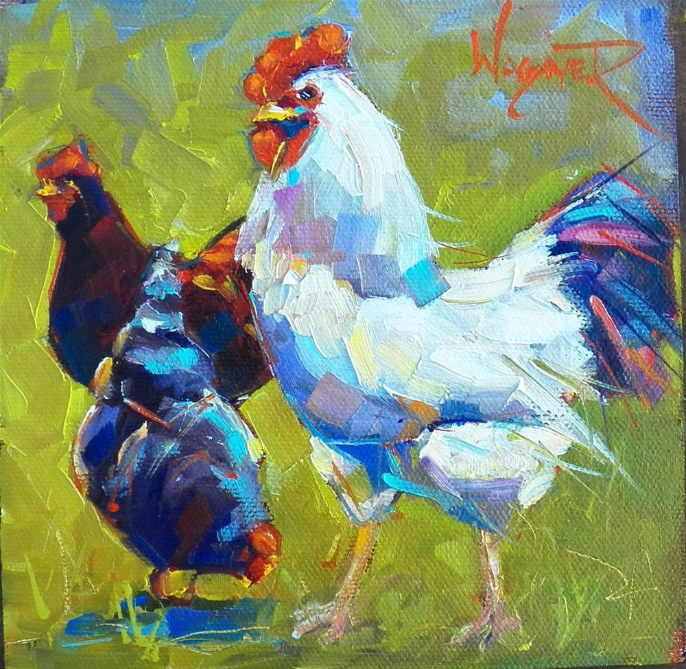 """30 in September - Painting #12"" original fine art by Olga Wagner"