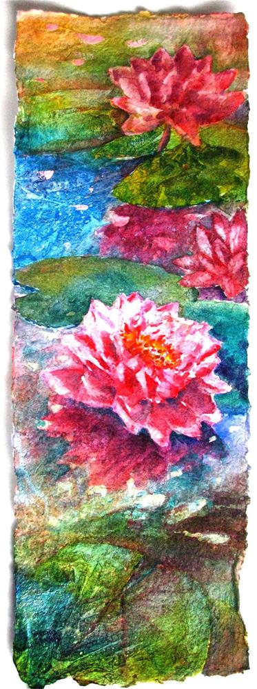 """Floating Garden"" original fine art by Melissa Gannon"