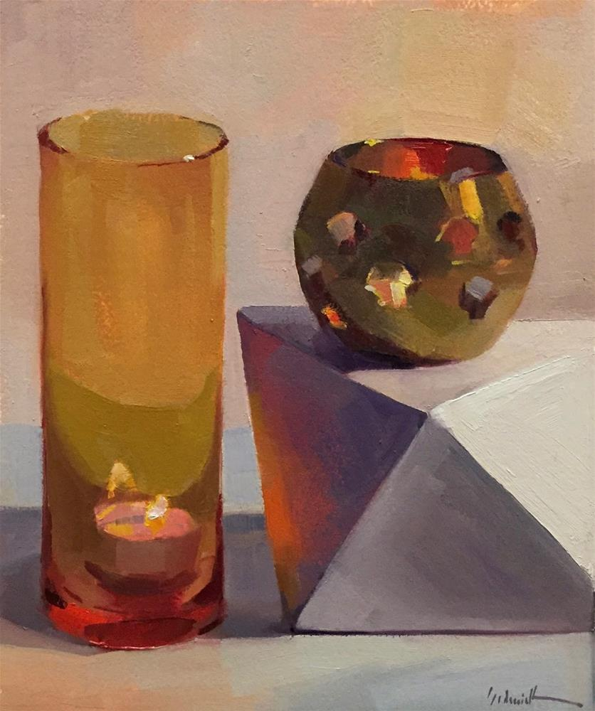 """Orange Light"" original fine art by Sarah Sedwick"