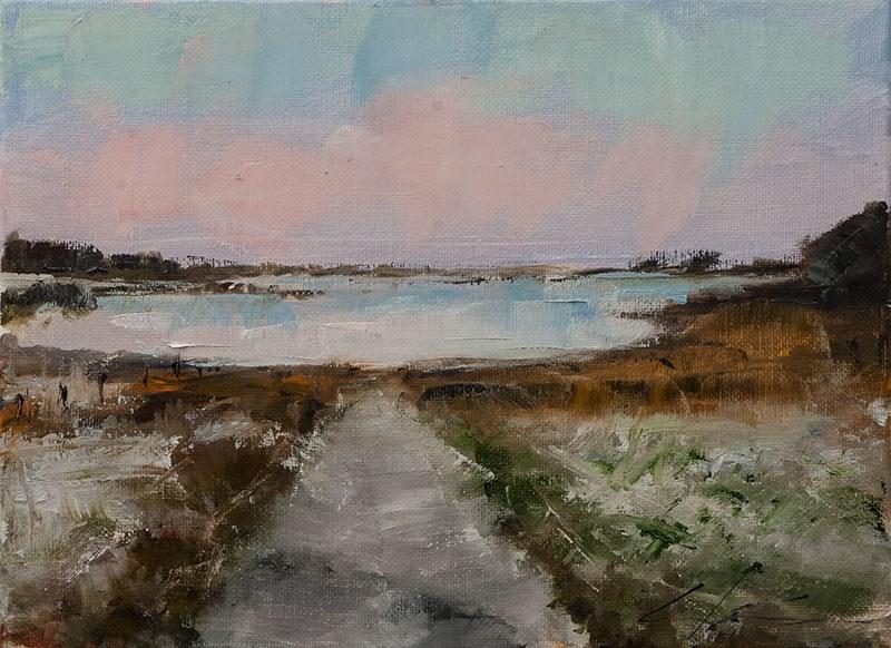 """""""Landscape Challenge #7"""" original fine art by Clair Hartmann"""
