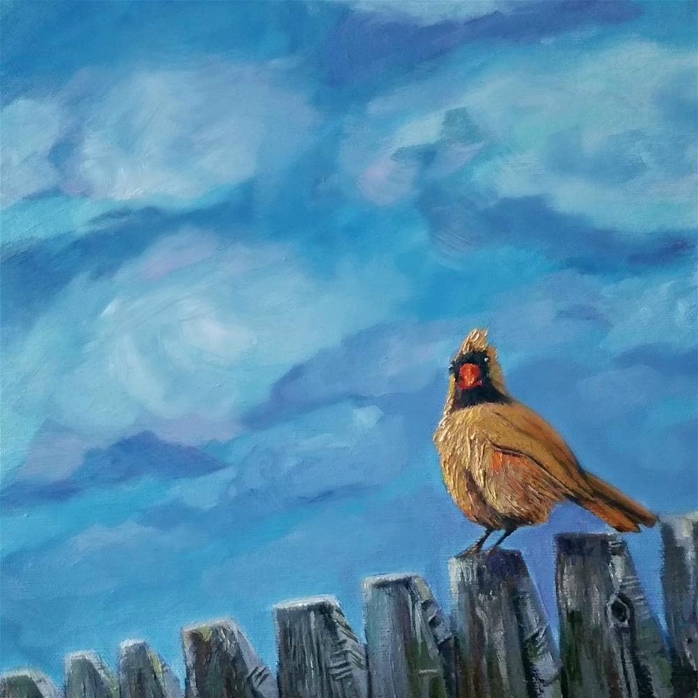 """Bird Watch"" original fine art by Dana C"