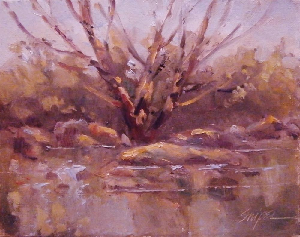 """""""A Tree for Baby"""" original fine art by Connie Snipes"""