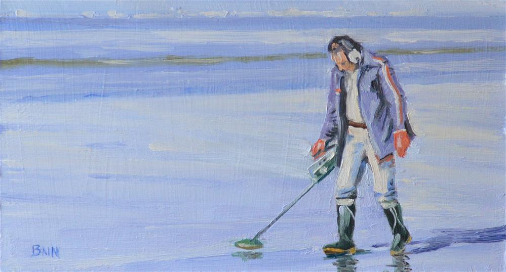 """Treasure Hunter #1"" original fine art by Peter Bain"