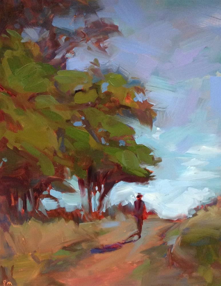 """Near The Top"" original fine art by Patti McNutt"