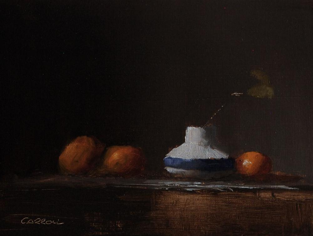 """Upturned Lid"" original fine art by Neil Carroll"