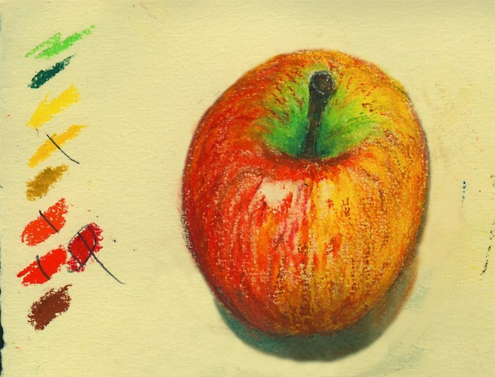 """study-2"" original fine art by Mitsuru Cope"