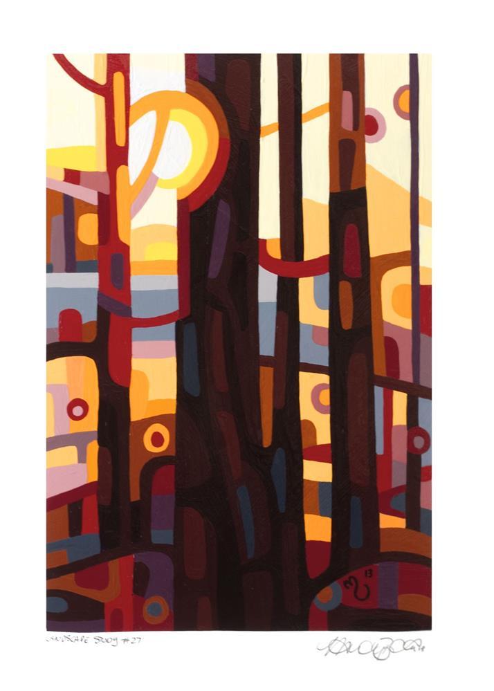 """Landscape Study #27"" original fine art by Mandy Budan"