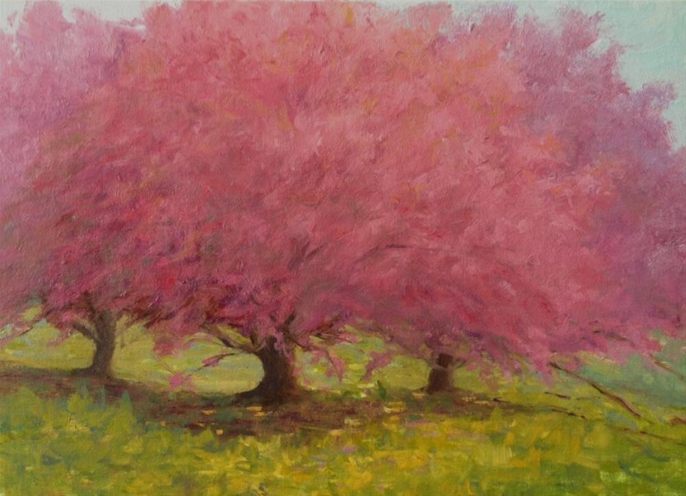 """3 Sisters"" original fine art by Judith Anderson"