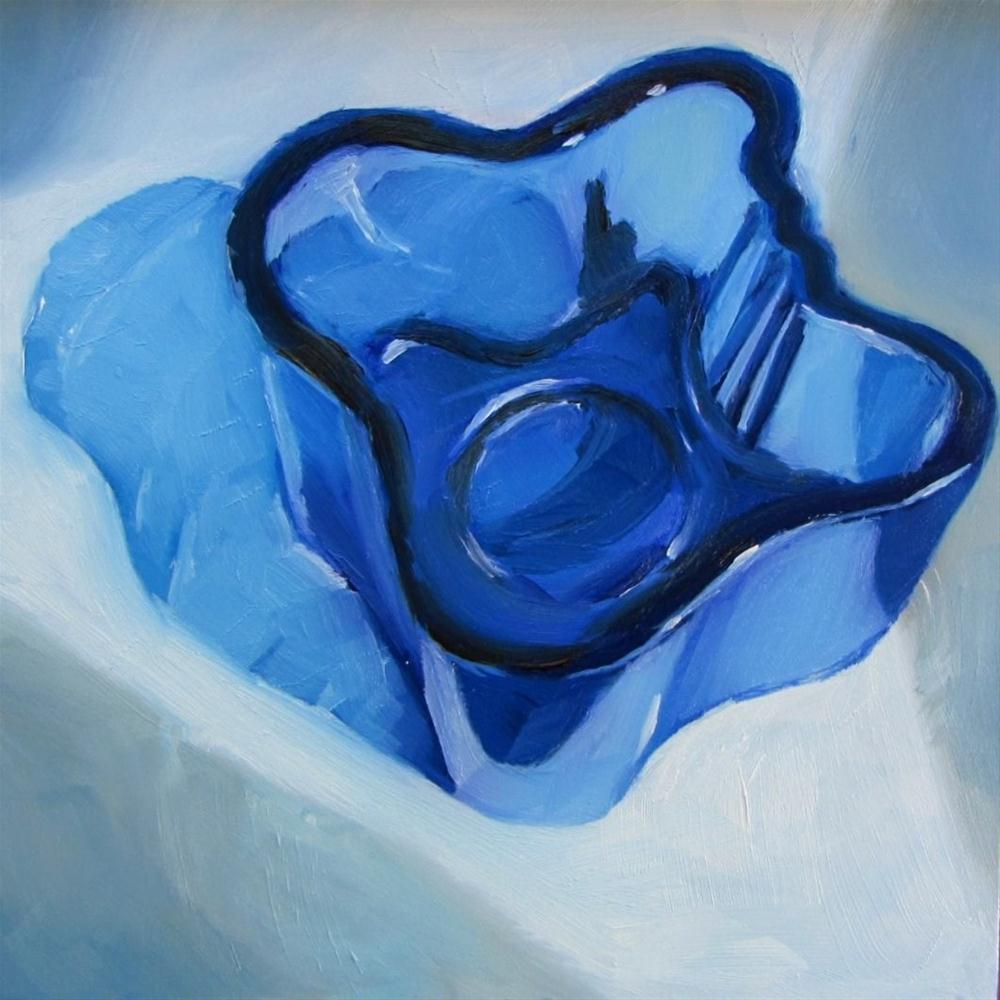 """""""Finnish Glass (Iittala) Votive Holder"""" original fine art by Nora Bergman"""