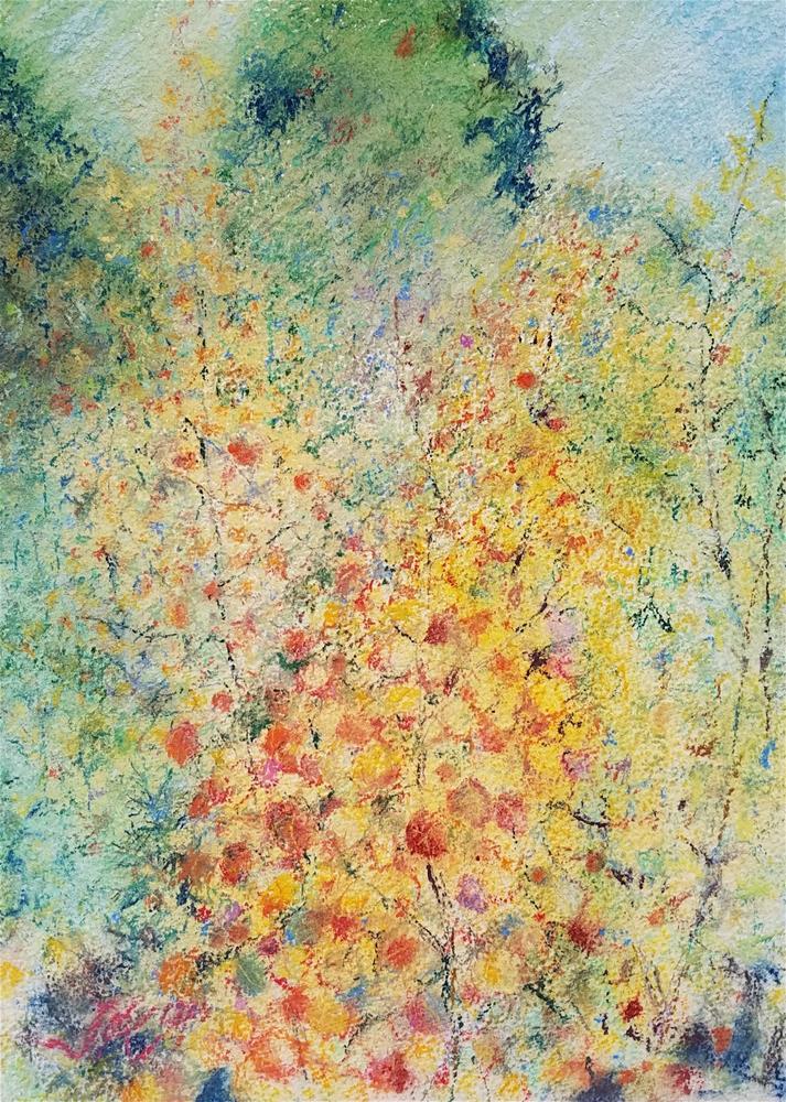 """ASPEN STUDY"" original fine art by Jean Krueger"