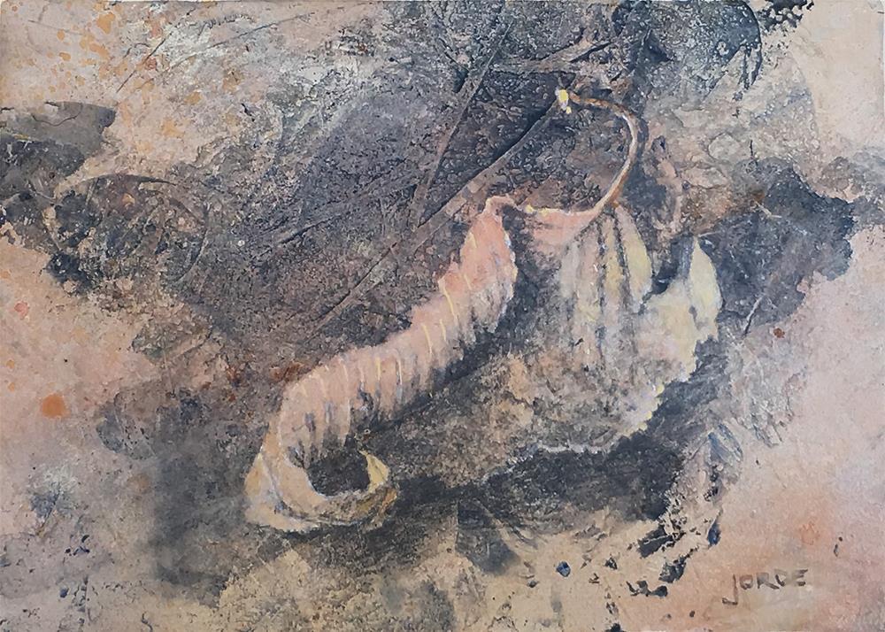 """""""Pirouette"""" original fine art by Robyn Jorde"""