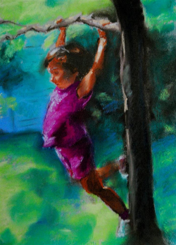 """Summer Fun"" original fine art by Lori Jacobs - Farist"