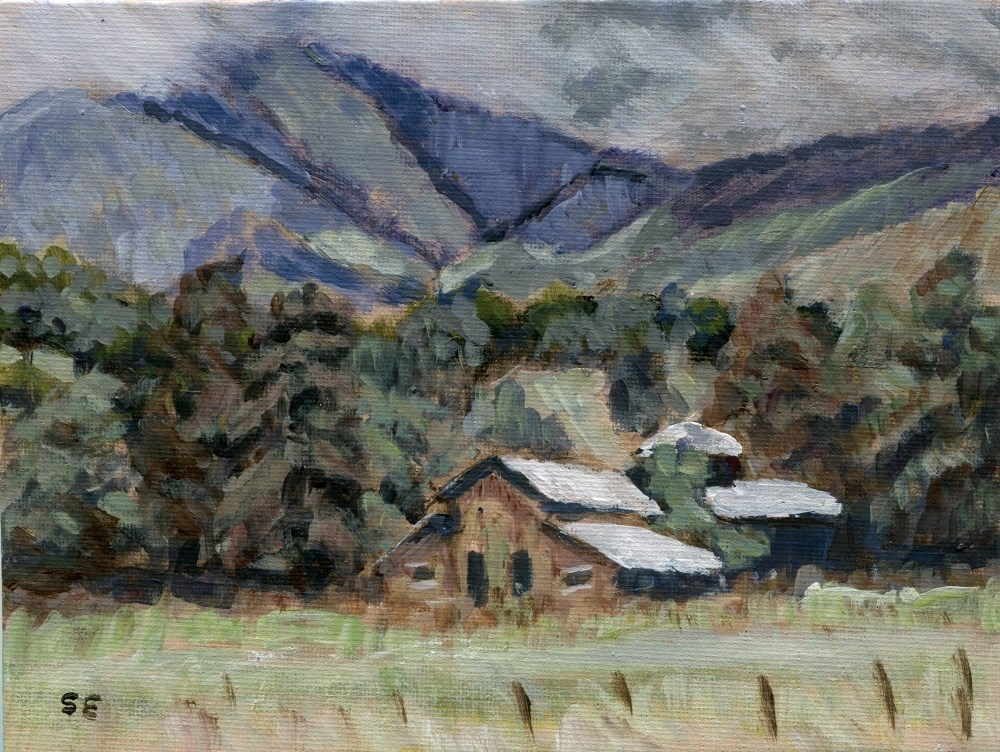 """Catfish Farm 2"" original fine art by Stanley Epperson"