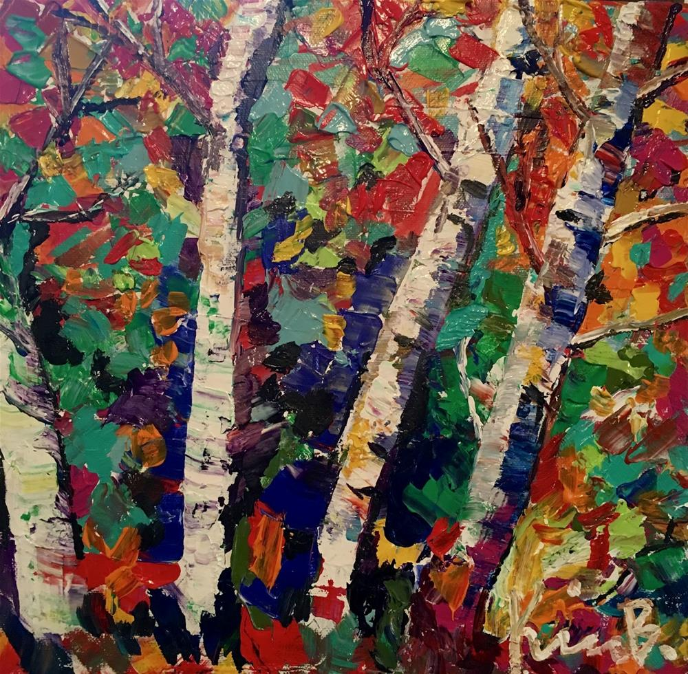 """The Forest"" original fine art by Kimberly Balentine"