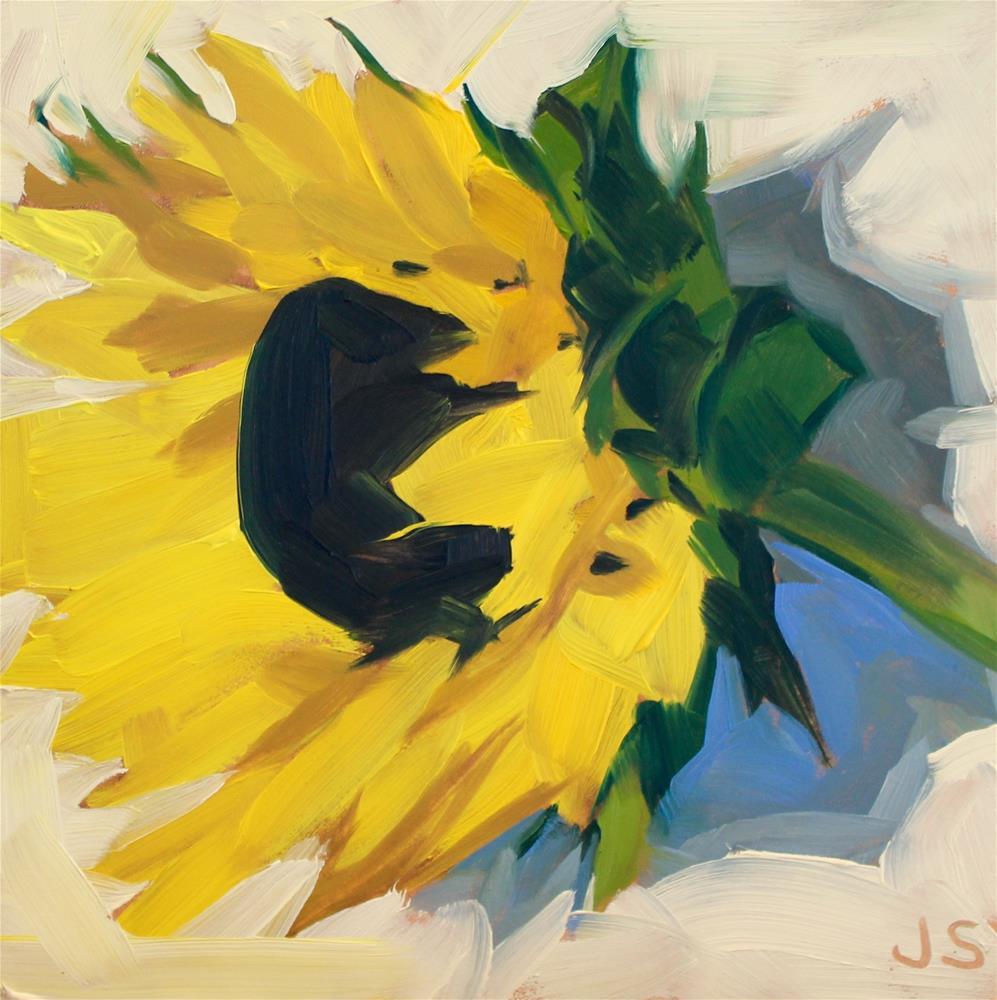 """""""Sunbathing"""" original fine art by Jamie Stevens"""