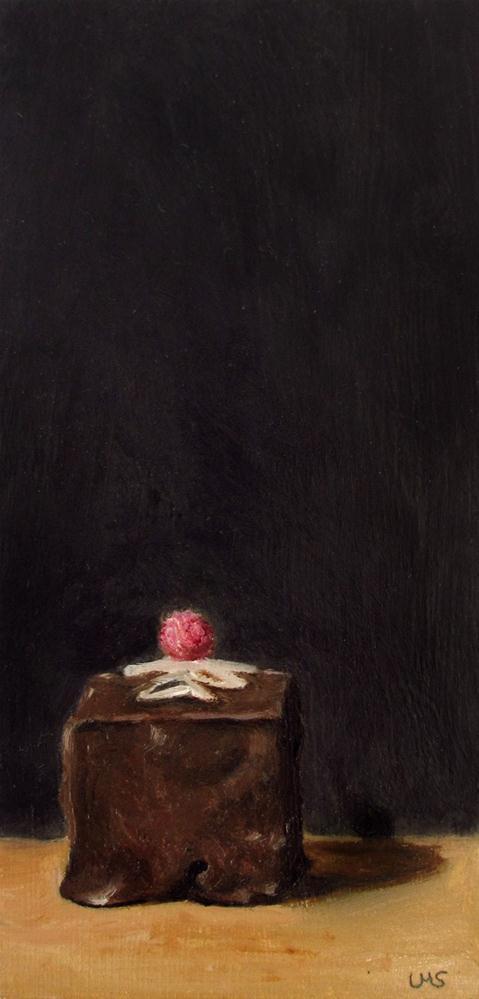 """""""Petit Four"""" original fine art by Ulrike Miesen-Schuermann"""