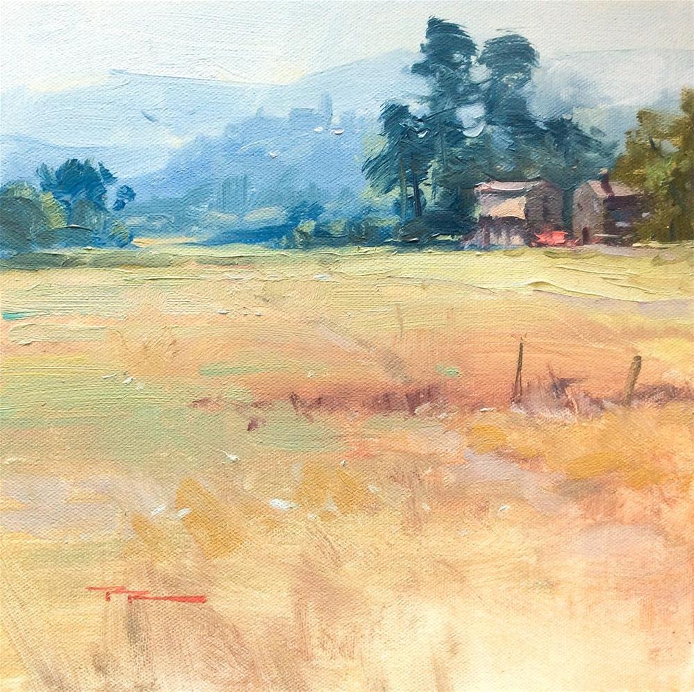 """The Way to Poppi"" original fine art by Richard Robinson"