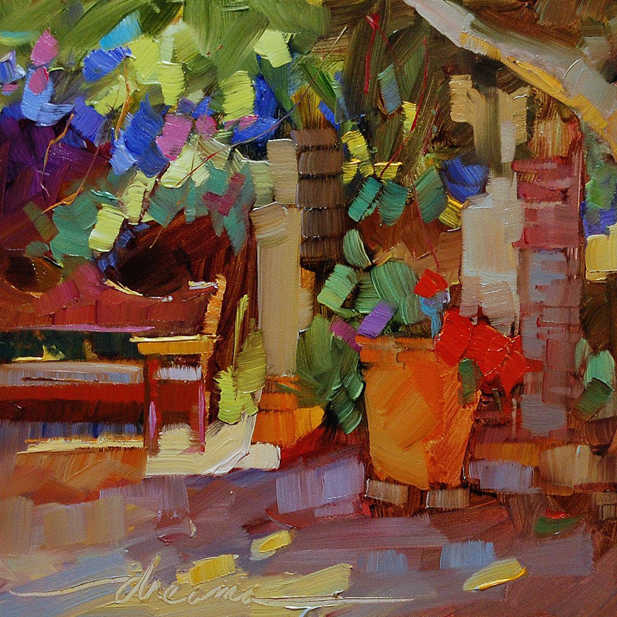 """Imagine"" original fine art by Dreama Tolle Perry"