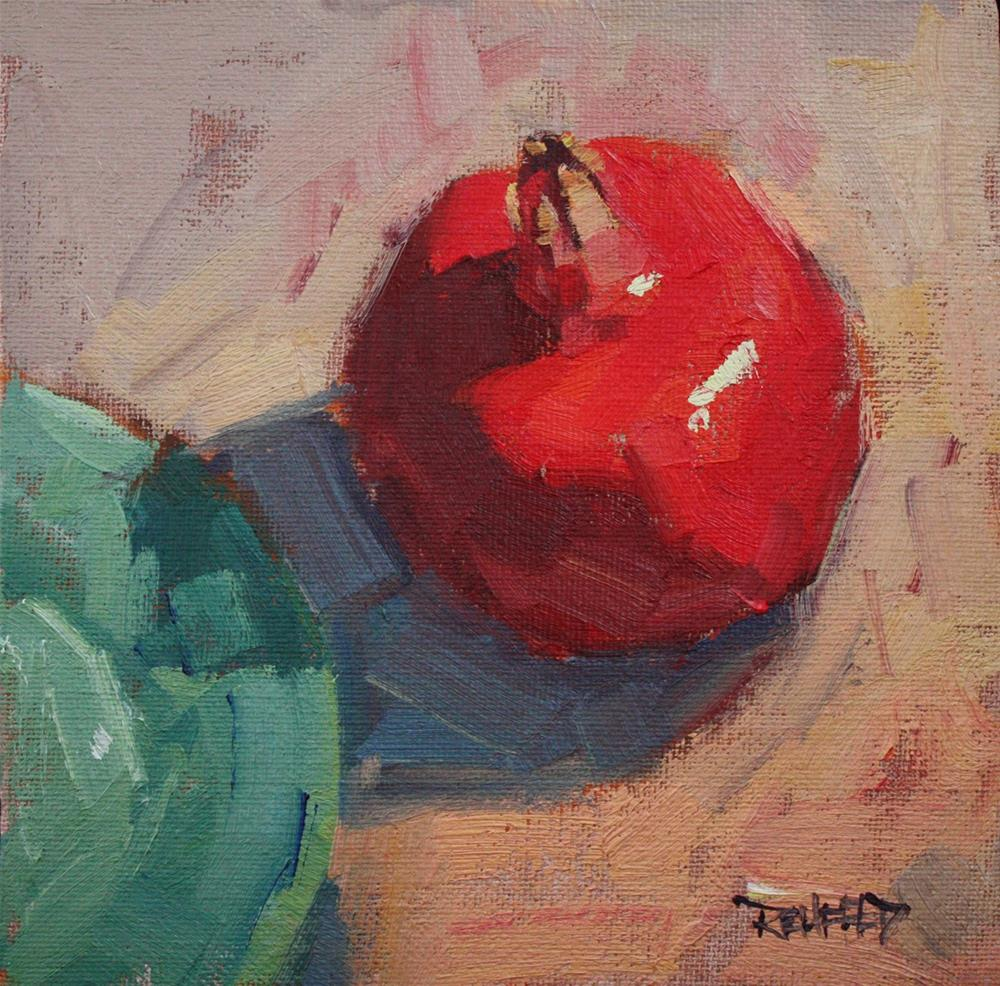 """Pom Composition"" original fine art by Cathleen Rehfeld"