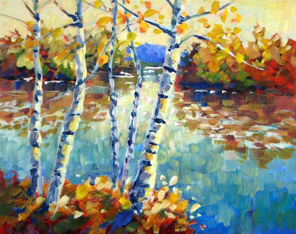 """""""Color Dance"""" original fine art by Melissa Gannon"""