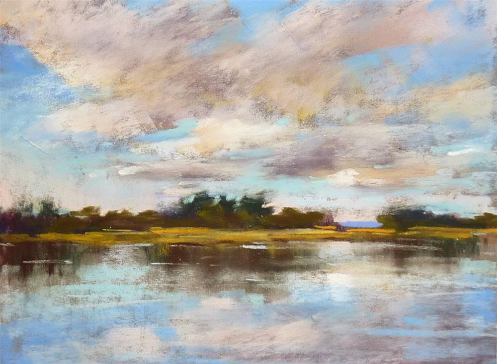 """Breaking in New Pastels"" original fine art by Karen Margulis"
