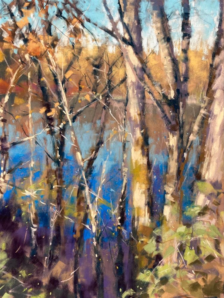 """""""River View"""" original fine art by Marla Baggetta"""