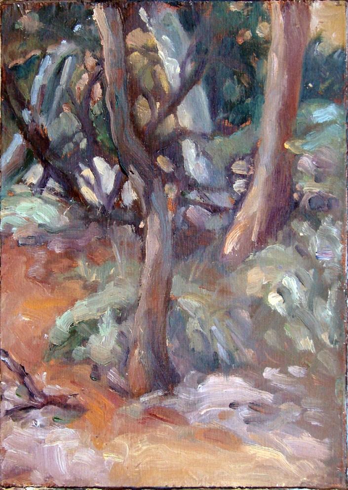 """""""Ruby Gap - Path"""" original fine art by Myriam Kin-Yee"""