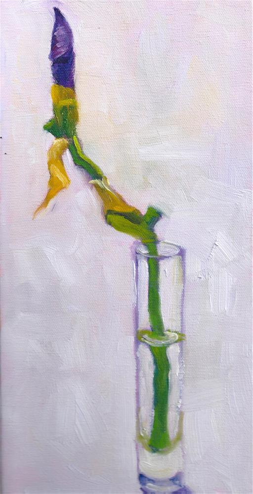 """About to Bloom"" original fine art by Marlene Lee"