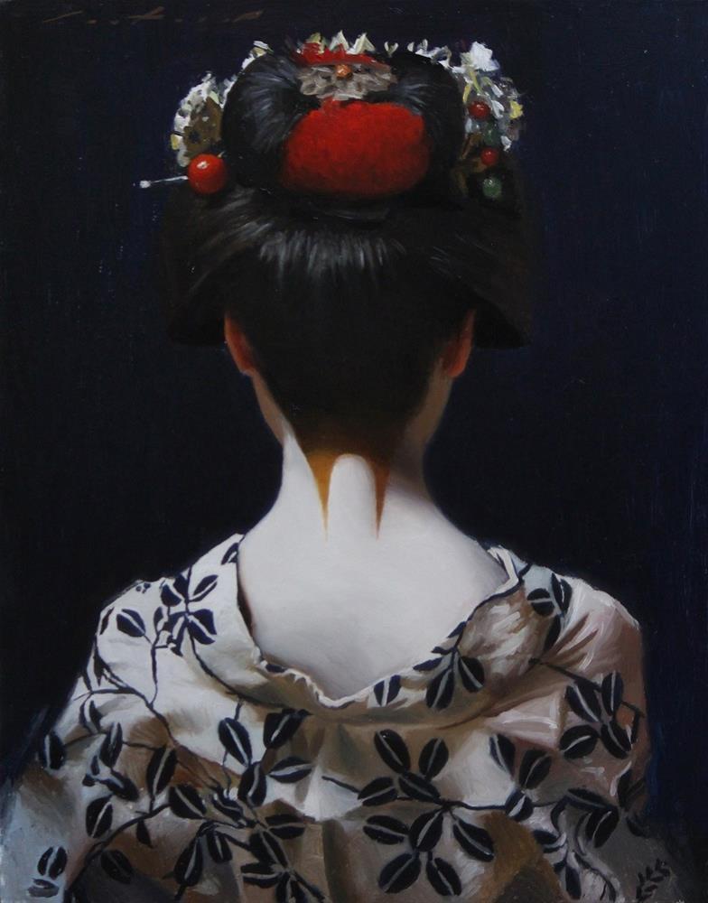 """""""Yukata"""" original fine art by Phil Couture"""