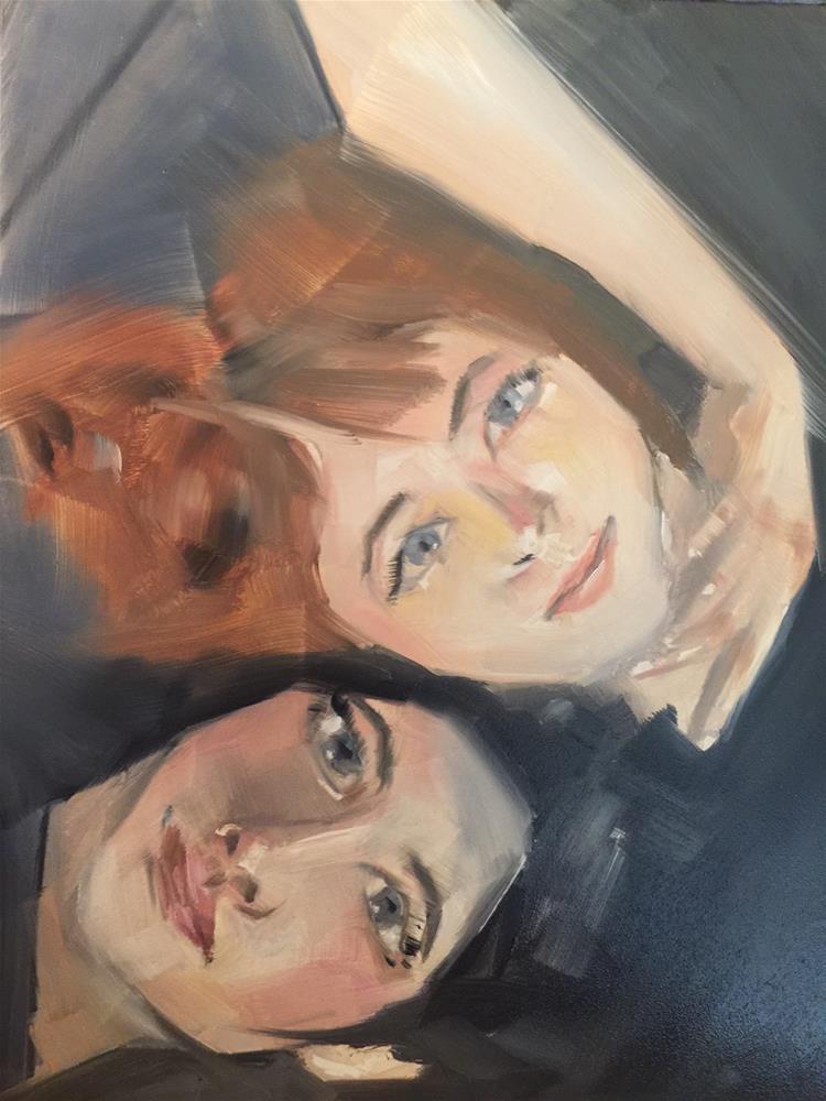 """""""455 Love is Love"""" original fine art by Jenny Doh"""