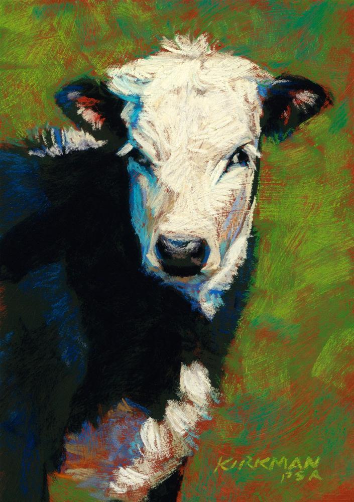 """Braith"" original fine art by Rita Kirkman"