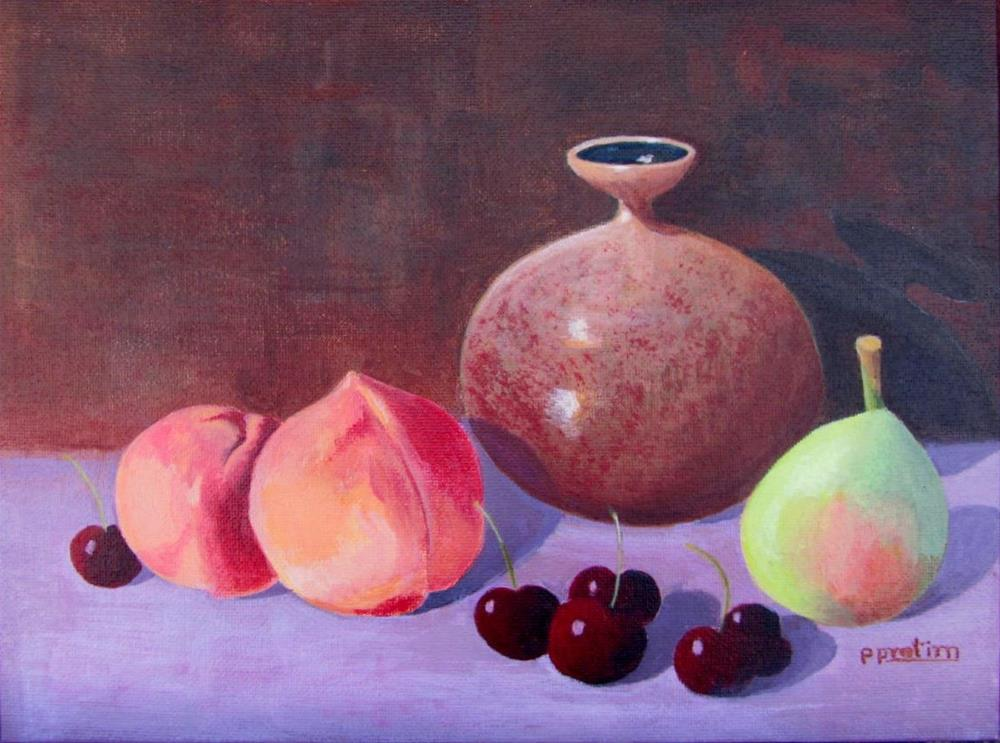 """Summer Delight"" original fine art by Pratima Patel"