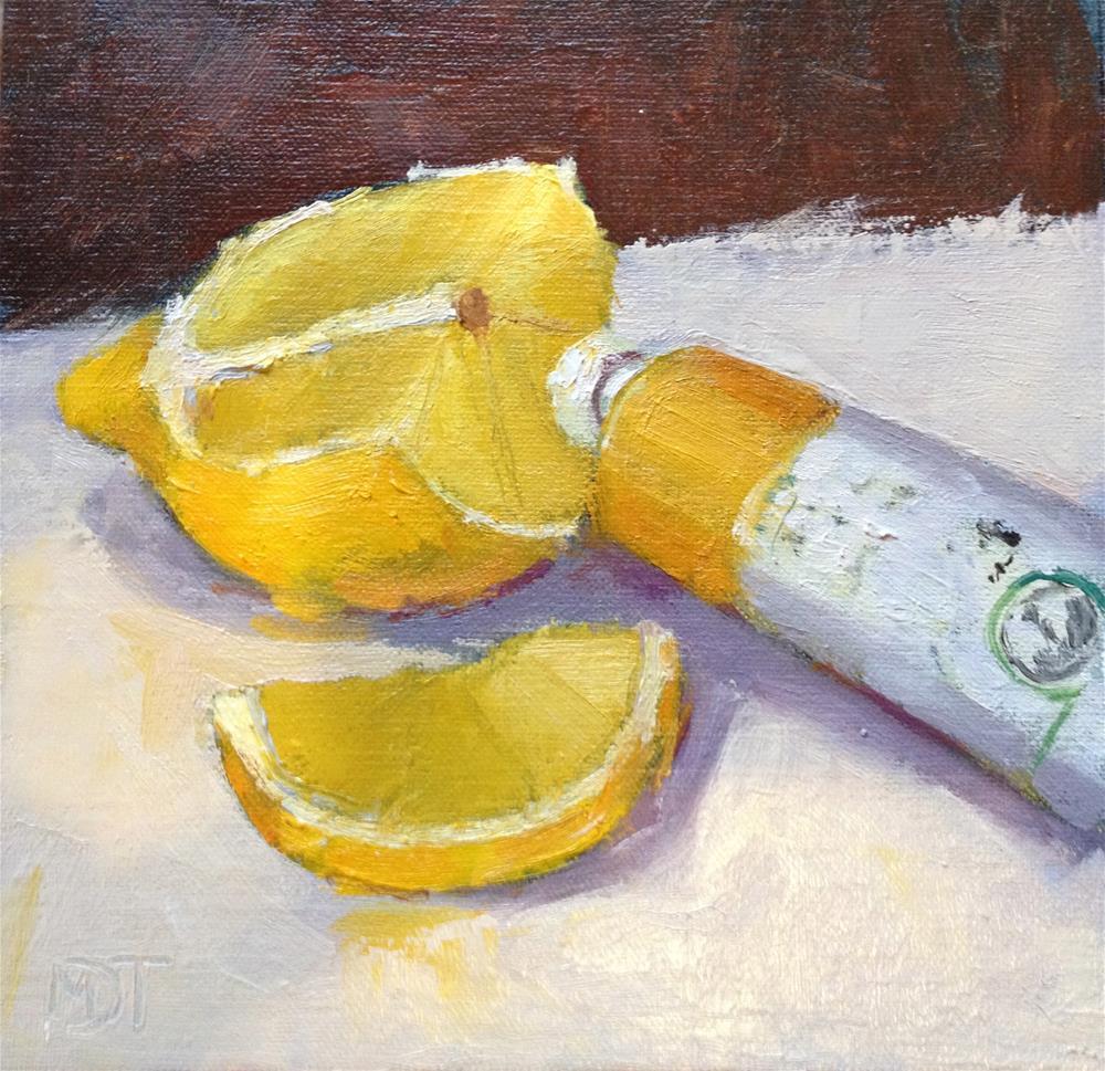 """More Yellow"" original fine art by Mo Teeuw"