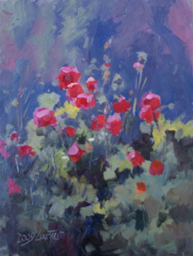 """"""" Garden Glow """" original fine art by Doug Carter"""