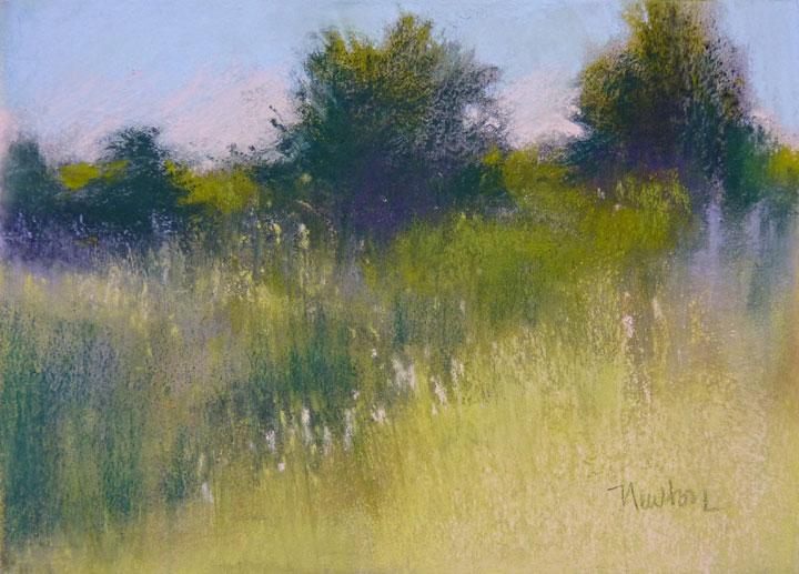 """The Long Way Home"" original fine art by Barbara Benedetti Newton"
