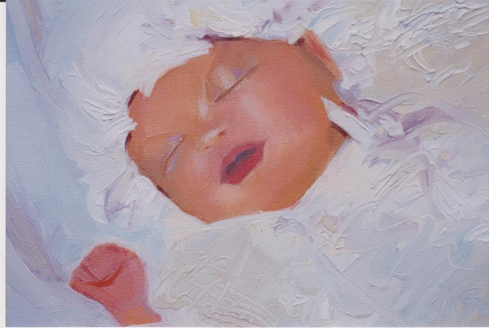 """Anna"" original fine art by Carole A. Ball"