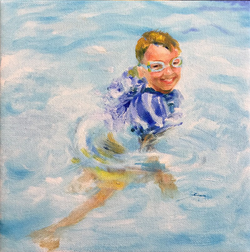 """summer"" original fine art by Joy Cai"