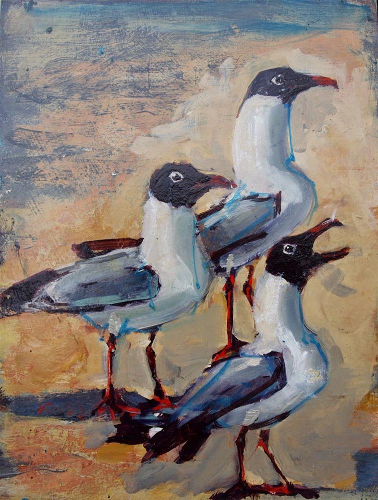 """Threefer"" original fine art by Rick Nilson"