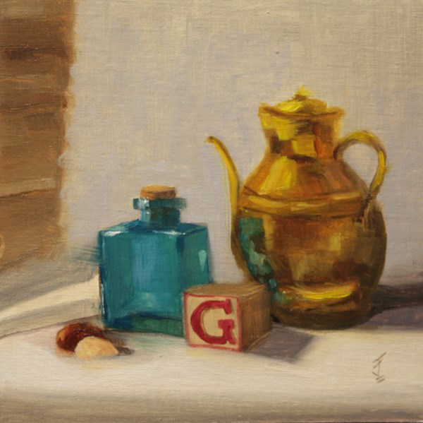 """""""G is for ..."""" original fine art by Jane Frederick"""