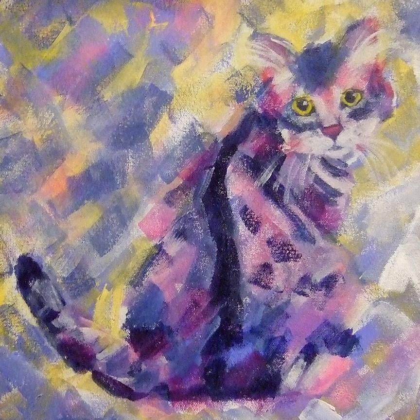 """Tuna for Lunch?"" original fine art by Pamela Gatens"