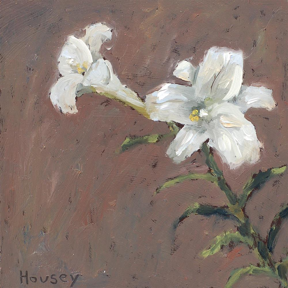 """""""Lily"""" original fine art by Bruce Housey"""