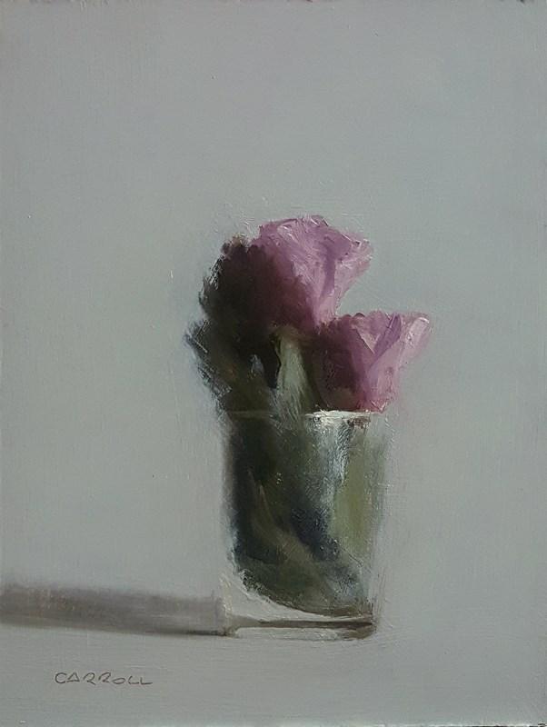 """""""Tumbler of Glass"""" original fine art by Neil Carroll"""