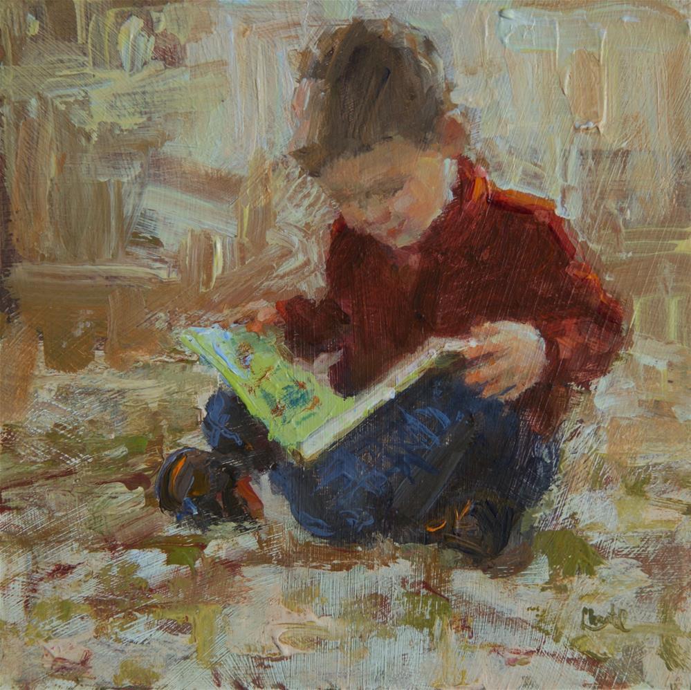 """Storybook"" original fine art by Chantel Barber"
