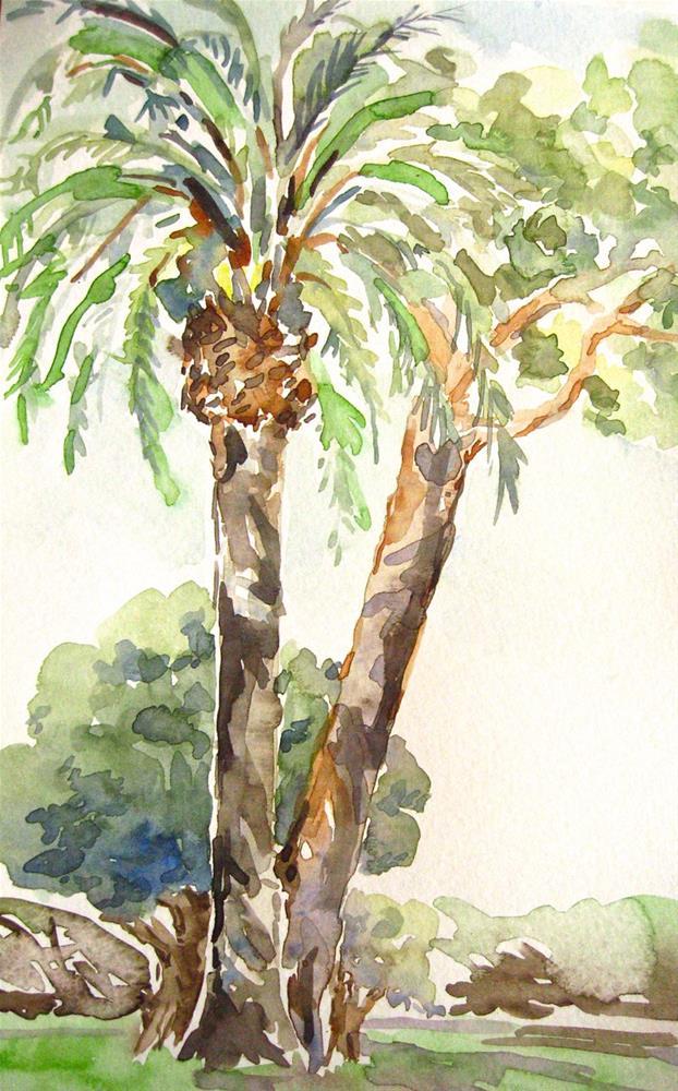 """On the Italian Riviera"" original fine art by Judith Freeman Clark"